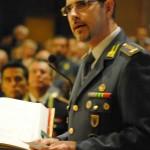 Il comandante provinciale Ghiraldini