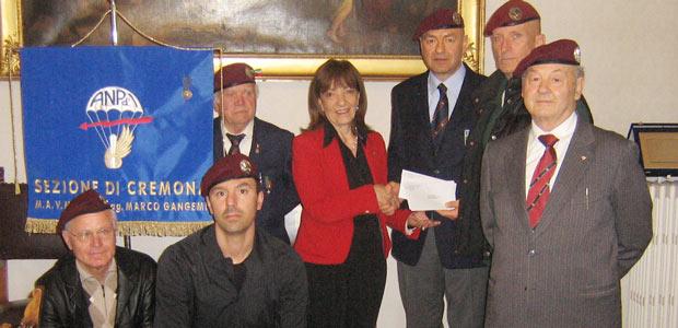 associazione paracadutisti in prefettura