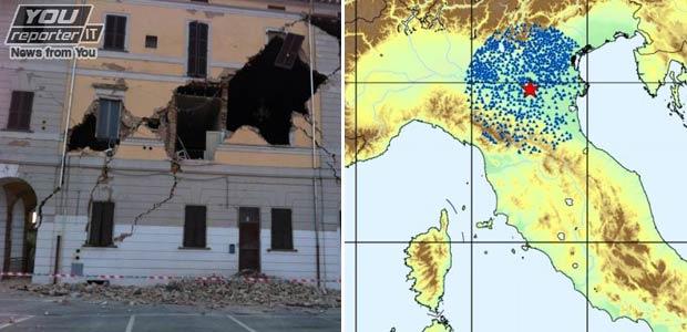 terremoto morti e danni