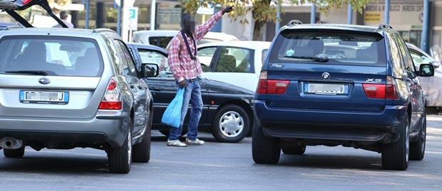 venditori-parcheggio