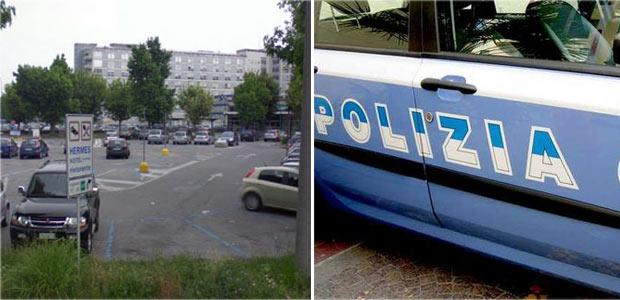 ospedale-parcheggio-polizia