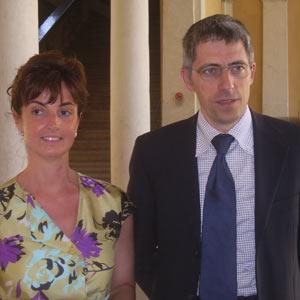 Gli avvocati Bozuffi e Tinelli