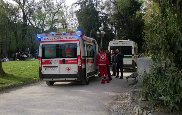 ambulanza guardini - dentro