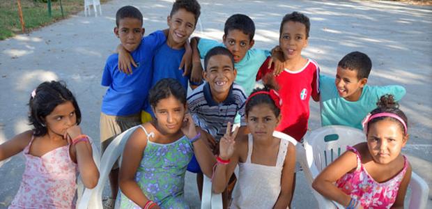 San Daniele Po accoglie dieci bimbi del Sahara Occidentale ...