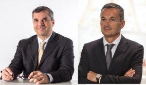 da sx Francesco Conte Amministratore Delegato QuattroR e Costantino Vaia Direttore Generale Consorzio Casalasco del Pomodoro 300dpi