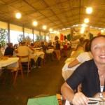Uno dei cinque ristoranti della Millenaria. Tutte le sere c'è il pienone
