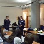 Sforza e Germanà Ballarino al comando con gli studenti