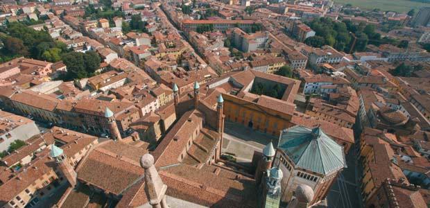 Cremona dall'alto