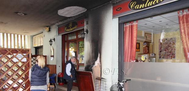 Incendio al Cantuccio