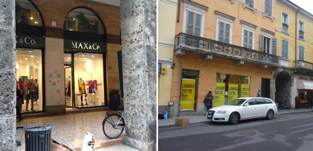 save off b0479 9712d Negozi, chiudono Mauro Giuli e Max&Co A breve verifica su ...