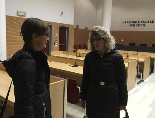 Gli avvocati Gigliotti e Mainetti