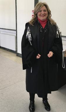 L'avvocato Michela Soldi