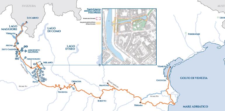 idrovia locarno venezia piantina