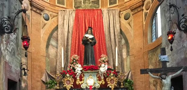 Emergenza Covid, resta <br /> chiusa la chiesa di Santa Rita: <br ...